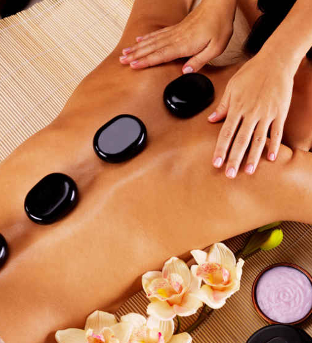 Hot Stone Massage q.ibell salon